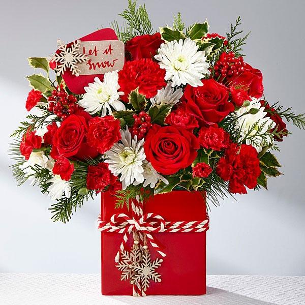 Le bouquet Holiday Cheer<SUP>TM</SUP> de FTD<SUP>®</SUP>