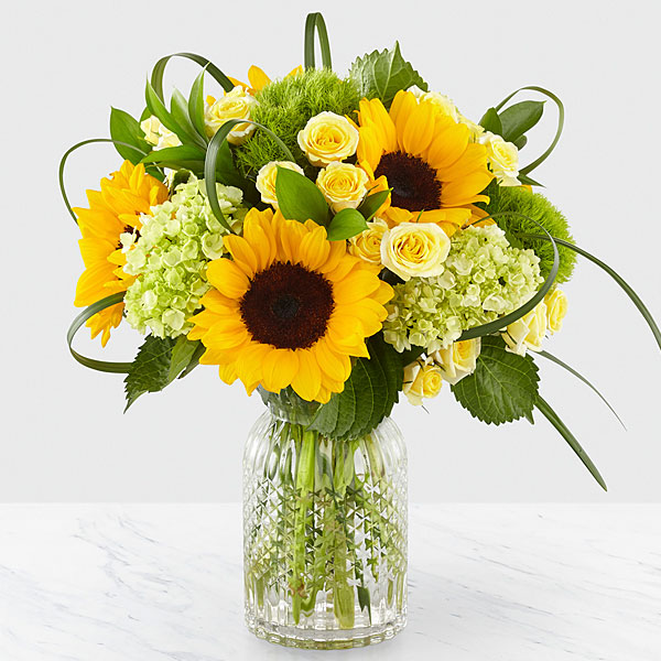 Sunlit Days Sunflower Bouquet