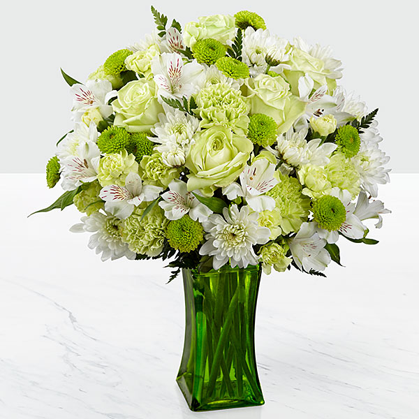 The FTD Lime-Licious Bouquet - INCLUDES VASE