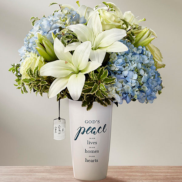 DaySpring In Gods Care Bouquet by FTD - VASE INCLUDED