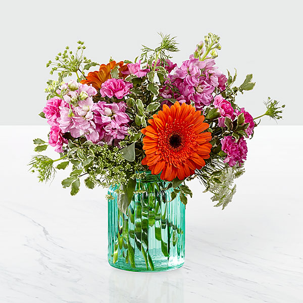 The FTD Aqua Escape Bouquet by Better Homes and Gardens