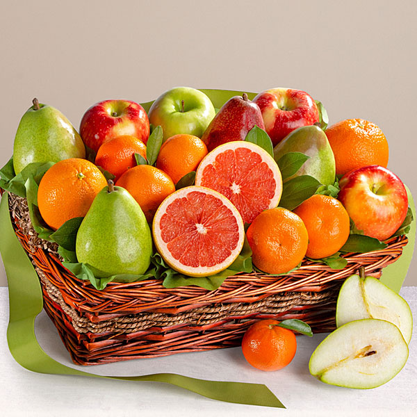 Gourmet Goodness Kosher Fruit Basket