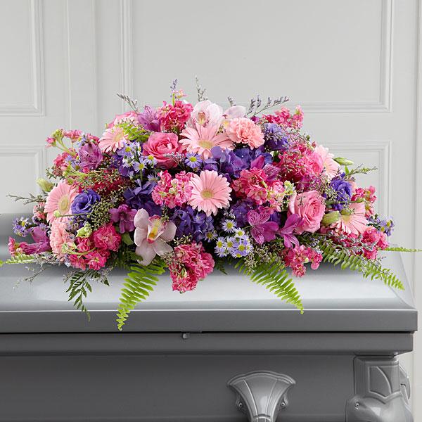 The ftd glorious garden casket spray mightylinksfo