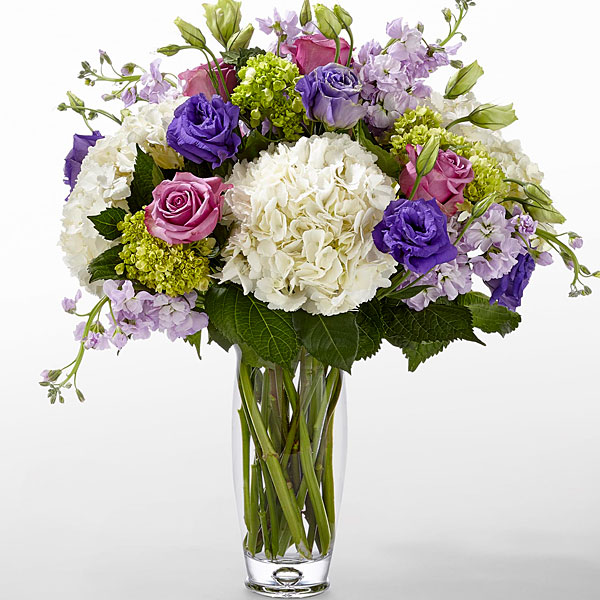 The FTD Traditions Bouquet by Vera Wang - VASE INCLUDED