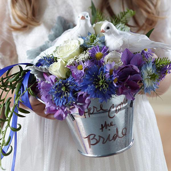 Enchantment Flower Girl Arrangement